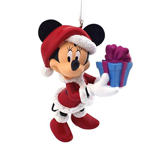 Hallmark Christmas Tree Ornament Minnie Mouse Santa