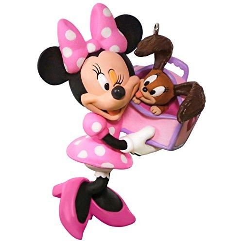 Hallmark Keepsake 2017 Disney Minnie Mouse Girls Best Friend Christmas Ornament