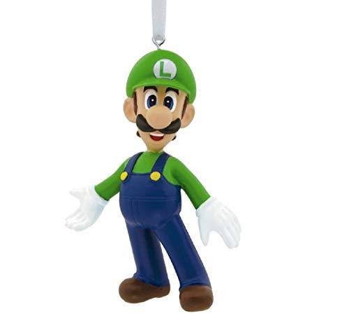 By Hallmark Super Mario Luigi Christmas Ornament Holiday Tree Kids Boy Girl Collectible