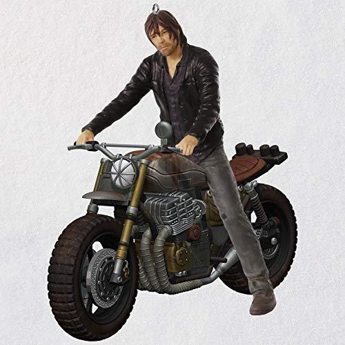 Hallmark Keepsake Christmas Ornament 2018 Year Dated, AMC The Walking Dead Daryl Rides