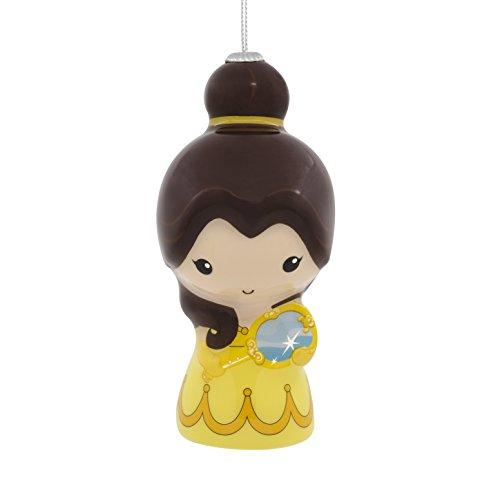 Hallmark Christmas Ornament Disney Beauty and The Beast Belle, Decoupage
