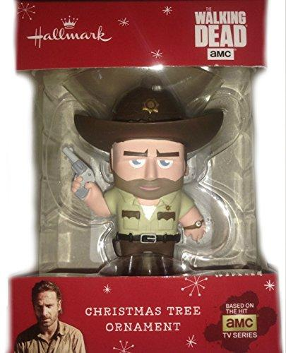 2015 Hallmark Walking Dead Rick Grimes Christmas Tree Ornament