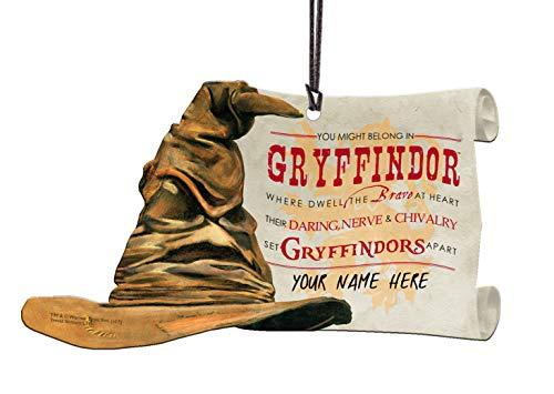 Trend Setters Harry Potter Sorting Hat Gryffindor Personalized Hanging Acrylic