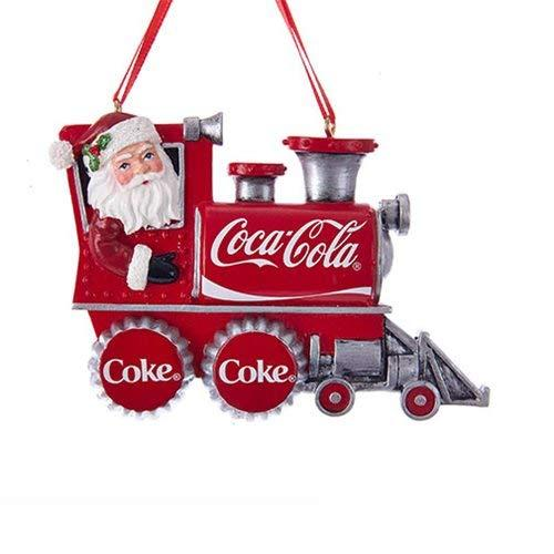 Kurt Adler Coca-Cola Santa Train Ornament