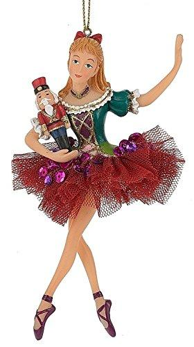 Clara Nutcracker Ballet Shoes Doll Christmas Tree Ornament