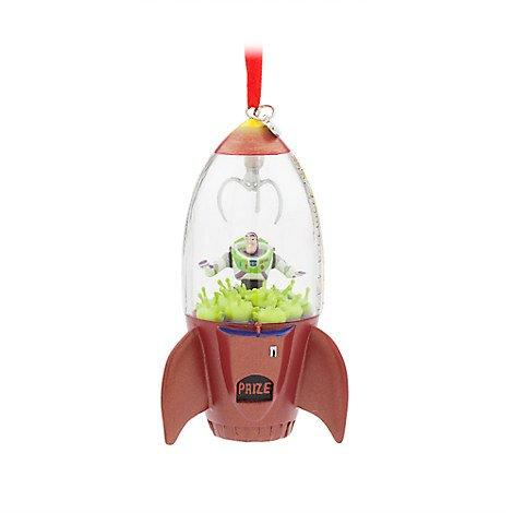 Disney Buzz Lightyear and Aliens Sketchbook Ornament
