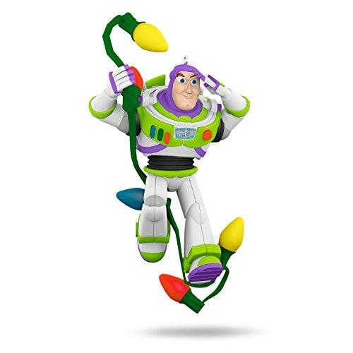 "Hallmark Keepsake Disney/Pixar Toy Story ""Buzz in Lights"" Holiday Ornament"