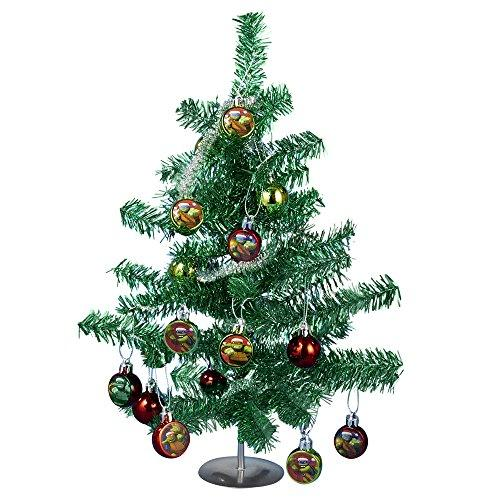 Kurt Adler Teenage Mutant Ninja Turtles Tinsel Tree Set, 15-Inch