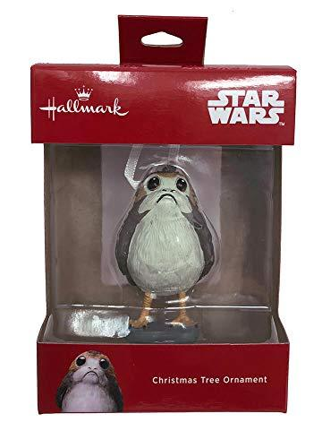 2018 Hallmark Disney Star Wars The Last Jedi PORG Christmas Tree Ornament