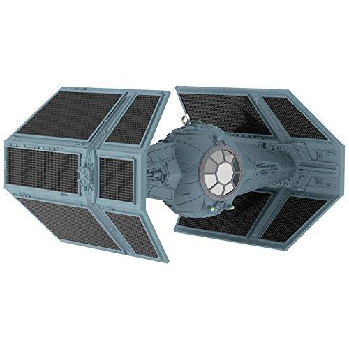 Star Wars Darth Vaders TIE Fighter Sound Ornament With Light Sci-Fi