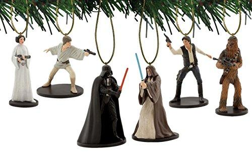 Star Wars New Hope 6pc Ornament Set