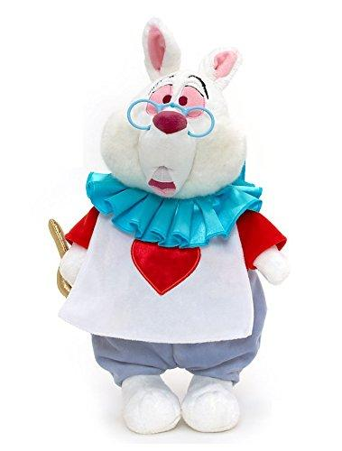 Disney Alice In Wonderland Exclusive 15 Inch Deluxe Plush Figure White Rabbit