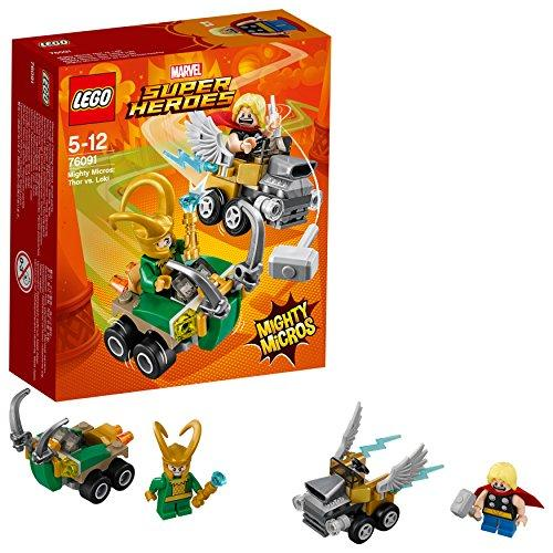 LEGO Super Heroes - Mighty Micros: Thor vs. Loki (76091)