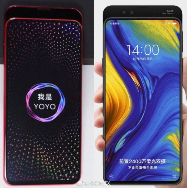 Honor Magic 2 vs Xiaomi Mi MIX 3