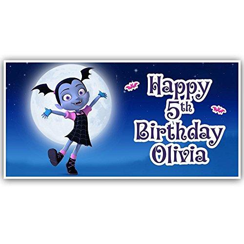 Vampirina Birthday Banner Personalized Party Decoration
