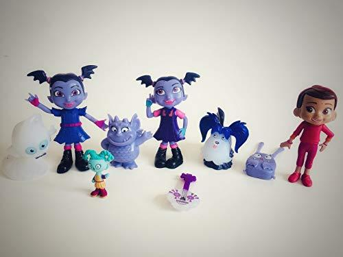 Cake Toppers Vampirina Deluxe Cupcake Figure Set 9 Pieces