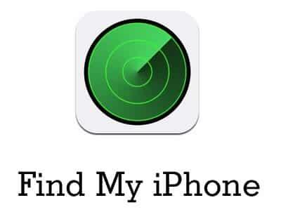Apple Find my Phone