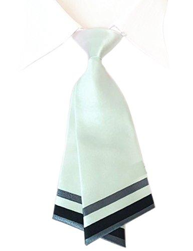 Patiky Bowtie for Men Women Adjustable Pre Tied Ties Sailor Neck Tie Accessories Tie02 (White)