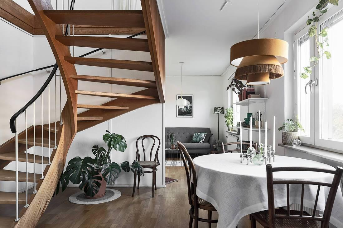 A staircase that gives originality 01