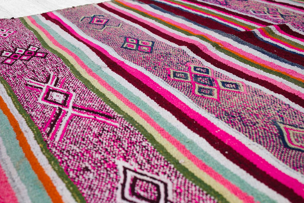 Peruvian frazadas traditional ethnic textiles for home 08