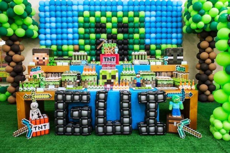 decoracion de minecraft
