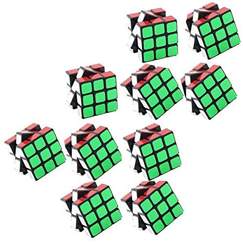 pelddy Mini Cubes Party Favors Cube Puzzle (10 Pack)