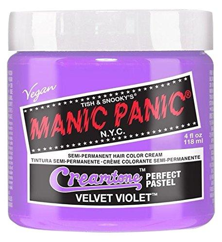 Manic Panic Creamtone Semi-Permanent Hair Color Velvet Violet