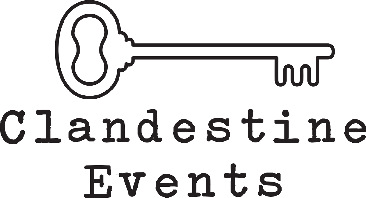 logo clandestine events