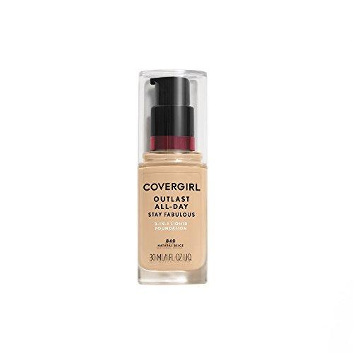 Covergirl Outlast Stay Fabulous 3-in-1 Foundation, Natural Beige 840 by COVERGIRL