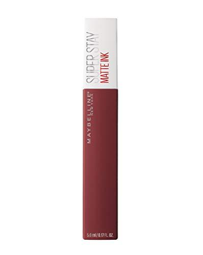 Maybelline New York Barra de Labios Mate Superstay Matte Ink, Tono 50 Voyager