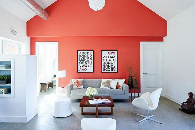 Coral color pantone para el 2019 - Pintar una pared
