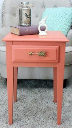 Coral color pantone para el 2019 - Pinta un mueble del color de moda