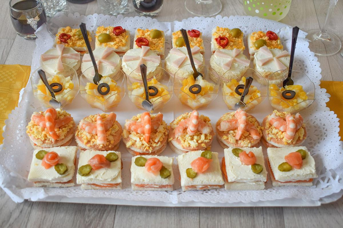 canapes faciles
