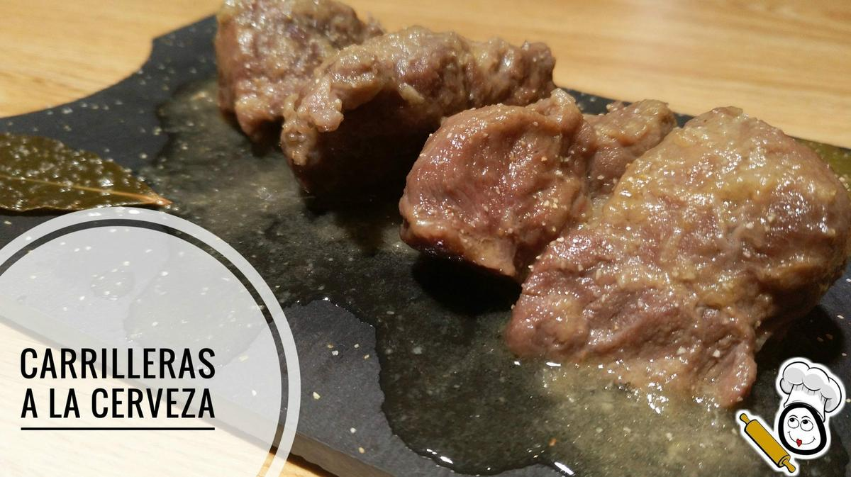 Carrilleras a la cerveza con Thermomix tm5.