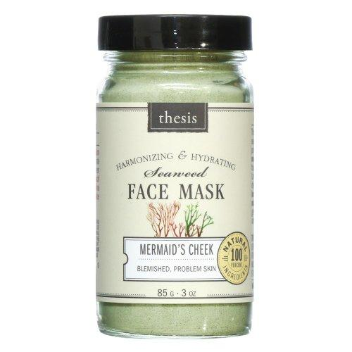 Organic Natural Face Mask for Oily, Combination, Problem, Acne prone Skin. Detoxing, balancing, with organic Kelp, French Green Clay. No synthetics, no preservatives, no toxins. 3 oz / 85 g