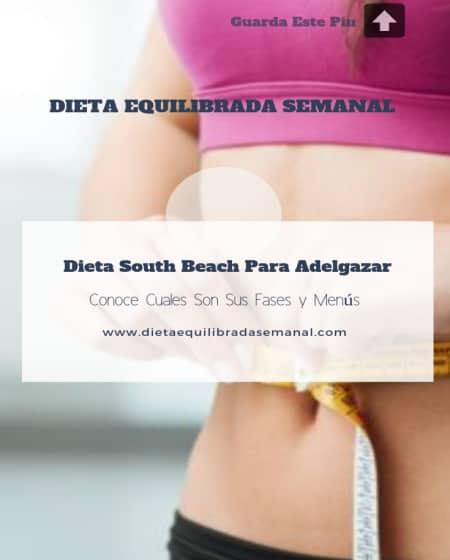 cuales son las fases de la dieta south beach