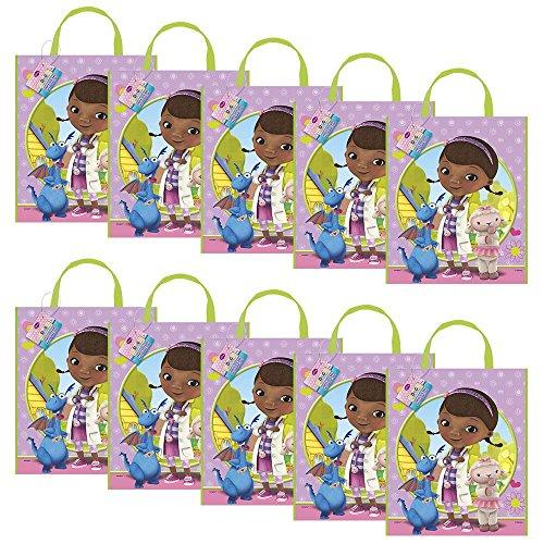 Doc Mcstuffins Party Tote Bag (Set of 10)