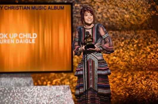 lauren daigle grammy award christian music