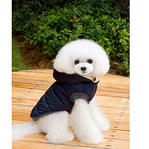Dog Pet Winter Cloth Comfortable Sweater Garment Hoodie Coat Clothes For SMALL Doggy Puppy Cat Fur Baby Outfit Keep Warm During The Cold Autumn Winter XXL