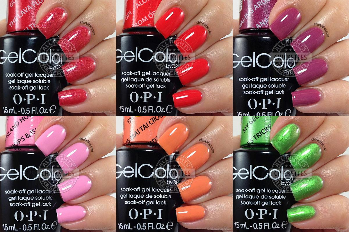 esmaltes permanantes opi gel color