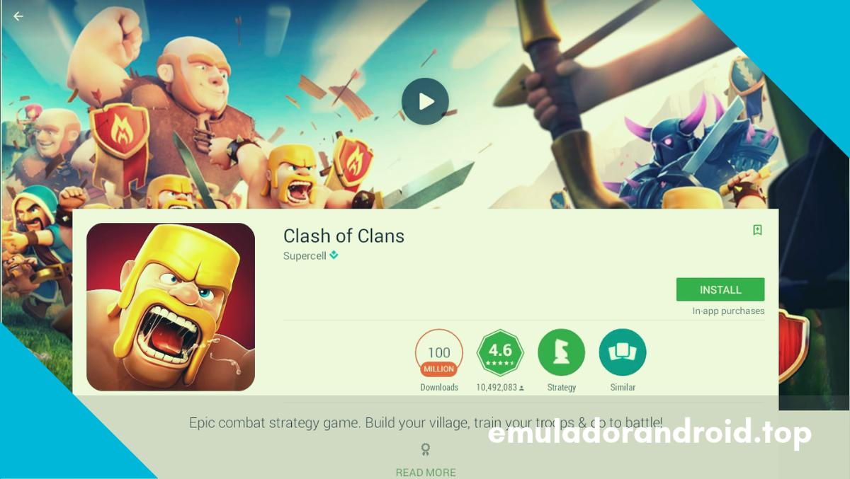 clash of clans emulador pc