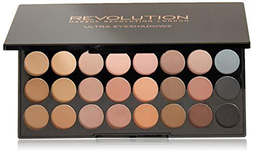 Makeup Revolution Ultra Eyeshadow Palette Flawless Matte Paleta 32 matowych cieni do powiek 16g