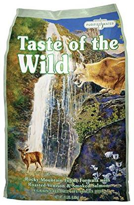 taste of wild gatos pienso