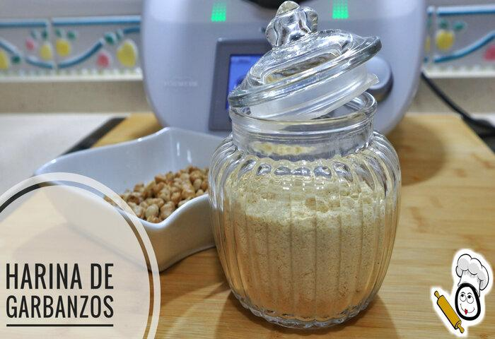 Harina de garbanzos Thermomix