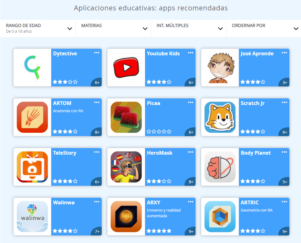 apps disponibles en apprender.sm