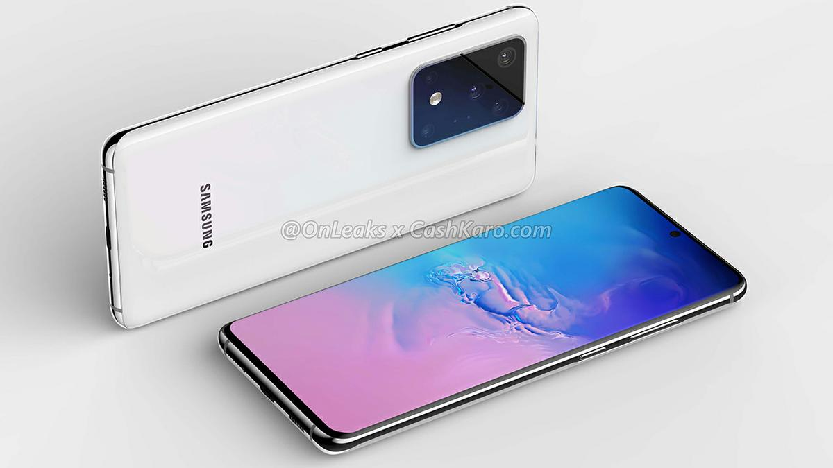 Samsung Galaxy S11 Plus - Renders