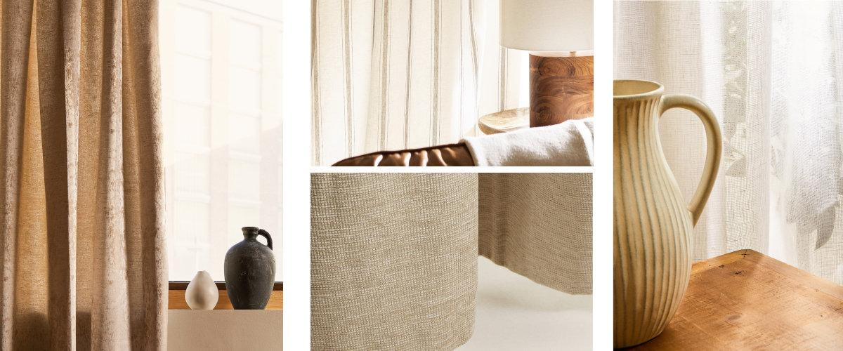 Cortinas Zara Home