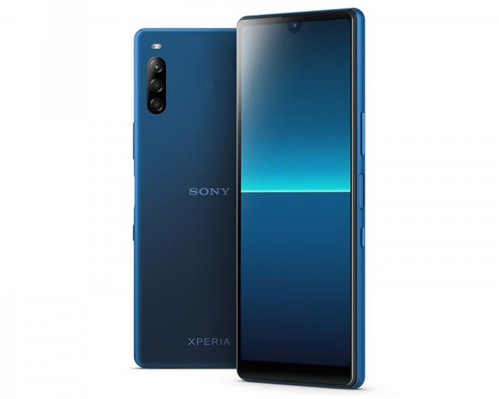 Sony Xperia L4 en color Azul
