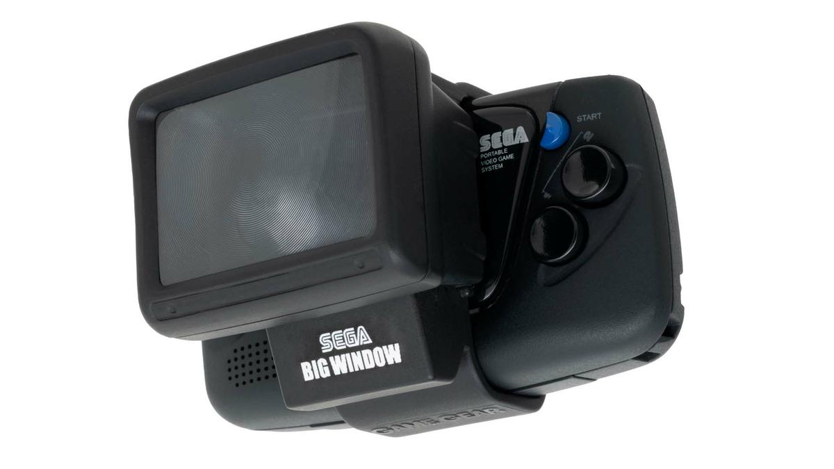 SEGA Game Gear Micro - Big Windows Micro