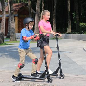 Patinete electrico Megawheels s1 es ideal para niños y adultos.